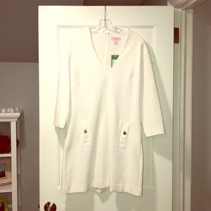 NWT Lilly Pulitzer white resort dress